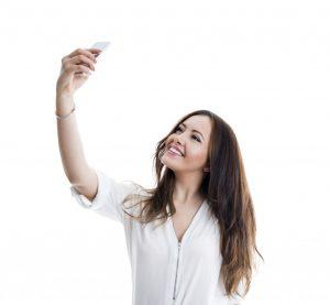 selfie passport photo